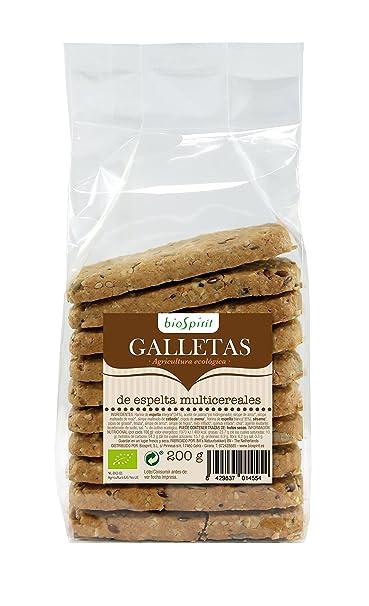Biospirit Galletas de Espelta Multicereales de Cultivo Ecológico - 200 gr