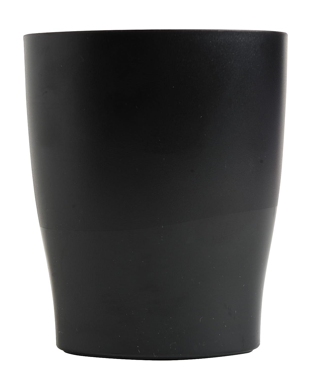 Exacompta Classic 676014D Pot /à crayons 9,50 x 6 x 8 cm Noir