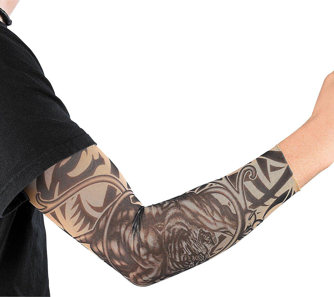 Tribal Tattoo Ärmlinge Ärmel Tattooärmel Armlinge Strumpf Tattoos Arm Armstrumpf Accessoires
