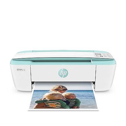 HP Deskjet 3730 AiO - Impresora multifunción (Wi-Fi, USB 2.0, 600 x 600 DPI, A4, ADF 216 x 355 mm), color verde