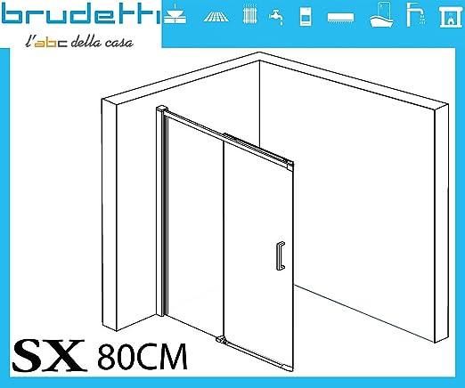 ⭐ Rainbox ⭐ ónice Box ducha 80 x 100 x 195H derecha rectangular cristal acabado Perfil de aluminio brillantato brillante ⭐: Amazon.es: Industria, empresas y ciencia