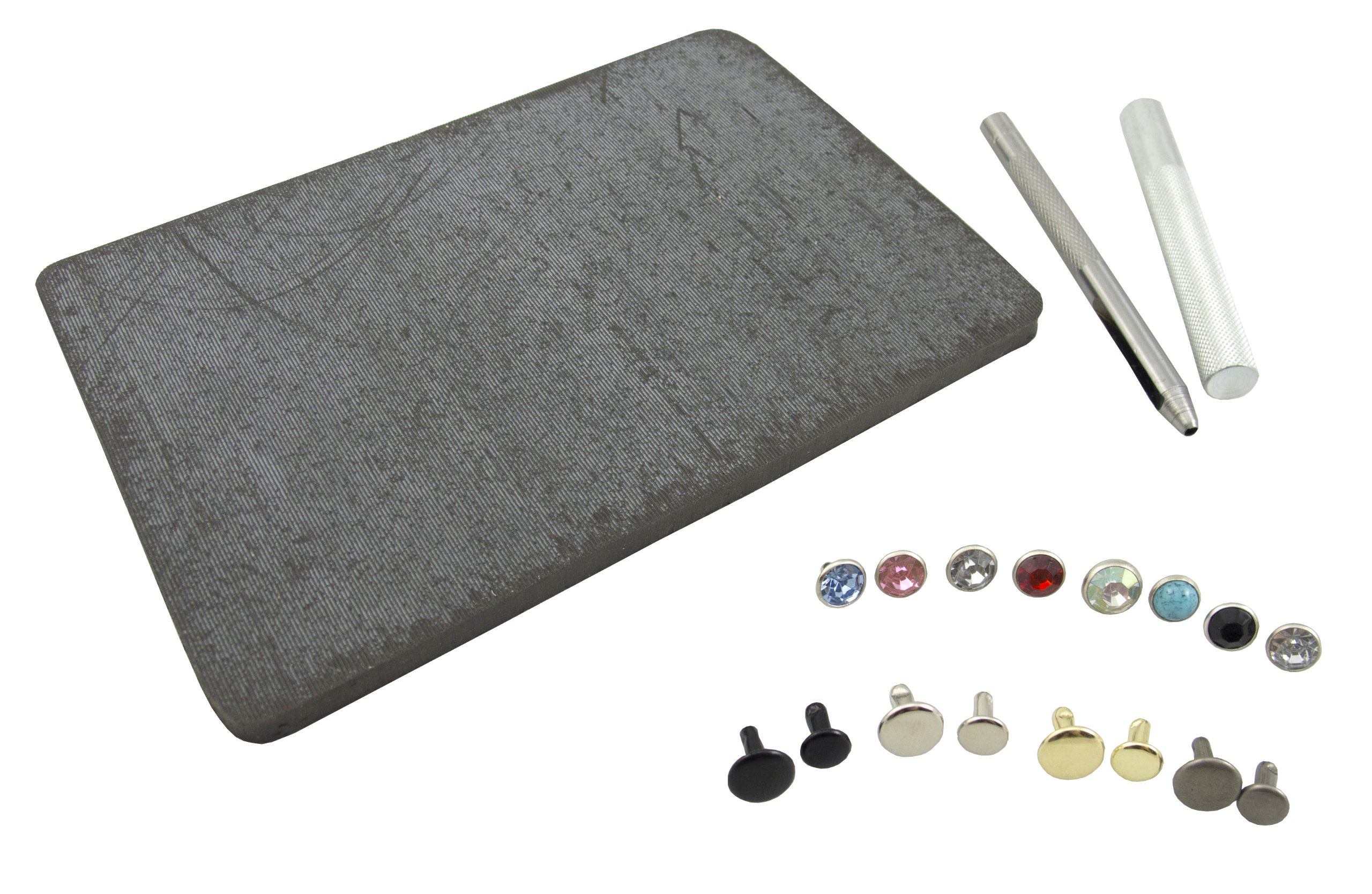 Springfield Leather Company's Decorative Rivet & Crystal Rivet Set Kit