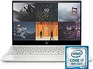 HP ENVY 13 Inch Thin Laptop w/ Fingerprint Reader, 4K Touchscreen, Intel Core i7-8565U, NVIDIA GeForce MX250 Graphics, 16GB