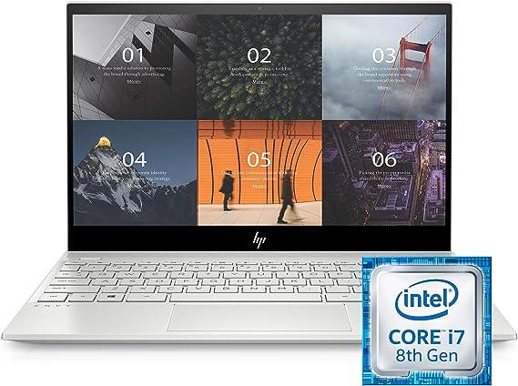 HP ENVY 13 Inch Thin Laptop w/ Fingerprint Reader