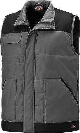 Dickies Mens Everyday Velcro Water Repellent Workwear Bodywarmer Gilet