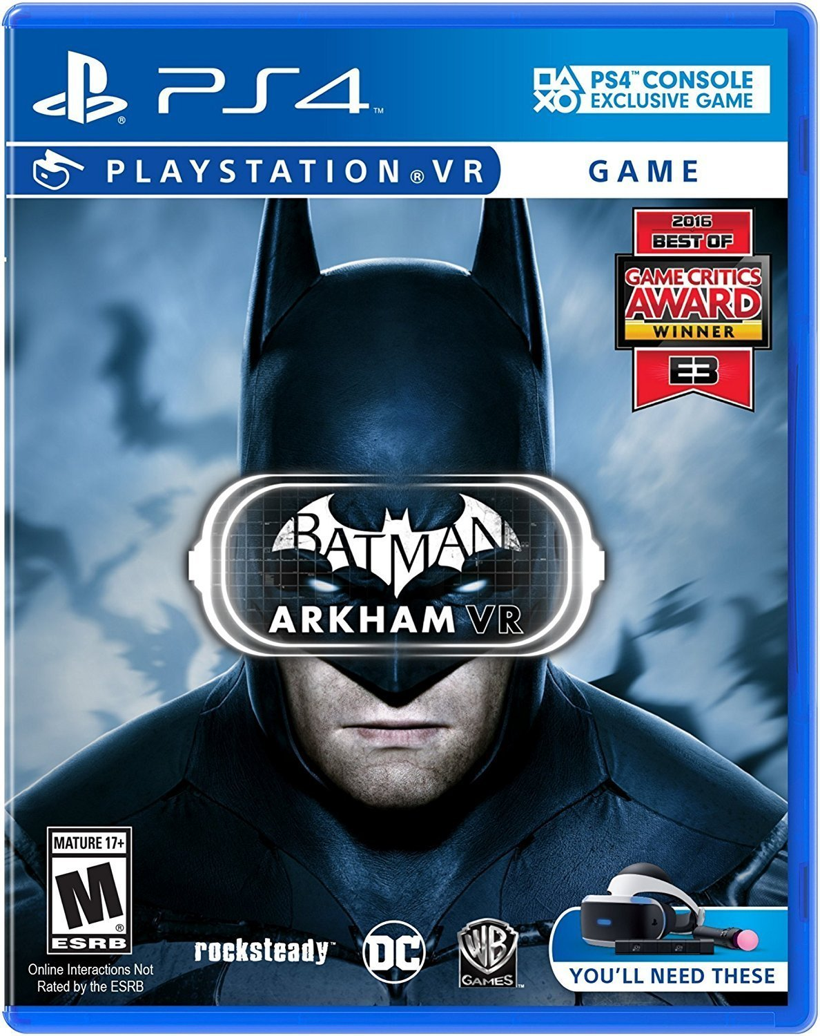 PlayStation VR Launch Bundle (3 Items): VR Launch Bundle,PlayStation 4 Pro 1TB Destiny 2 Bundle,VR Game Disc Arkham VR by Sony VR (Image #5)