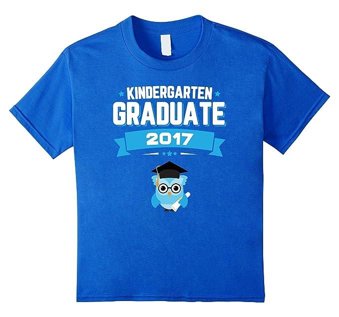 Amazon.com: Kids Class Of 2017 Kindergarten Graduation T-Shirt Boy Gift Unise: Clothing