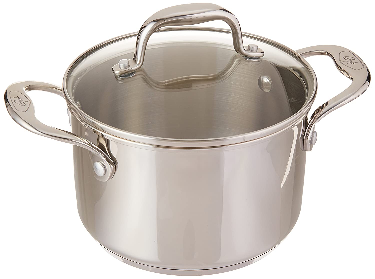 Amazon.com: Stainless Steel 3-qt Sauce Pot with Lid: Saucepans ...