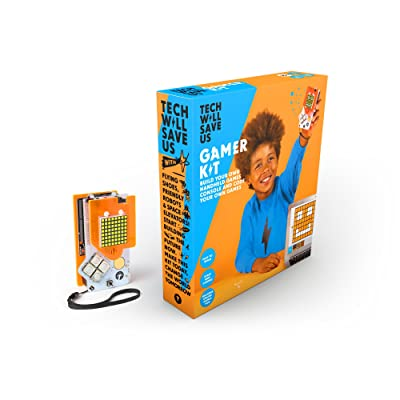 Tech Will Save Us, Gamer Kit (Ready-Soldered) | Educational STEM Toy, Ages 12 and Up: Toys & Games