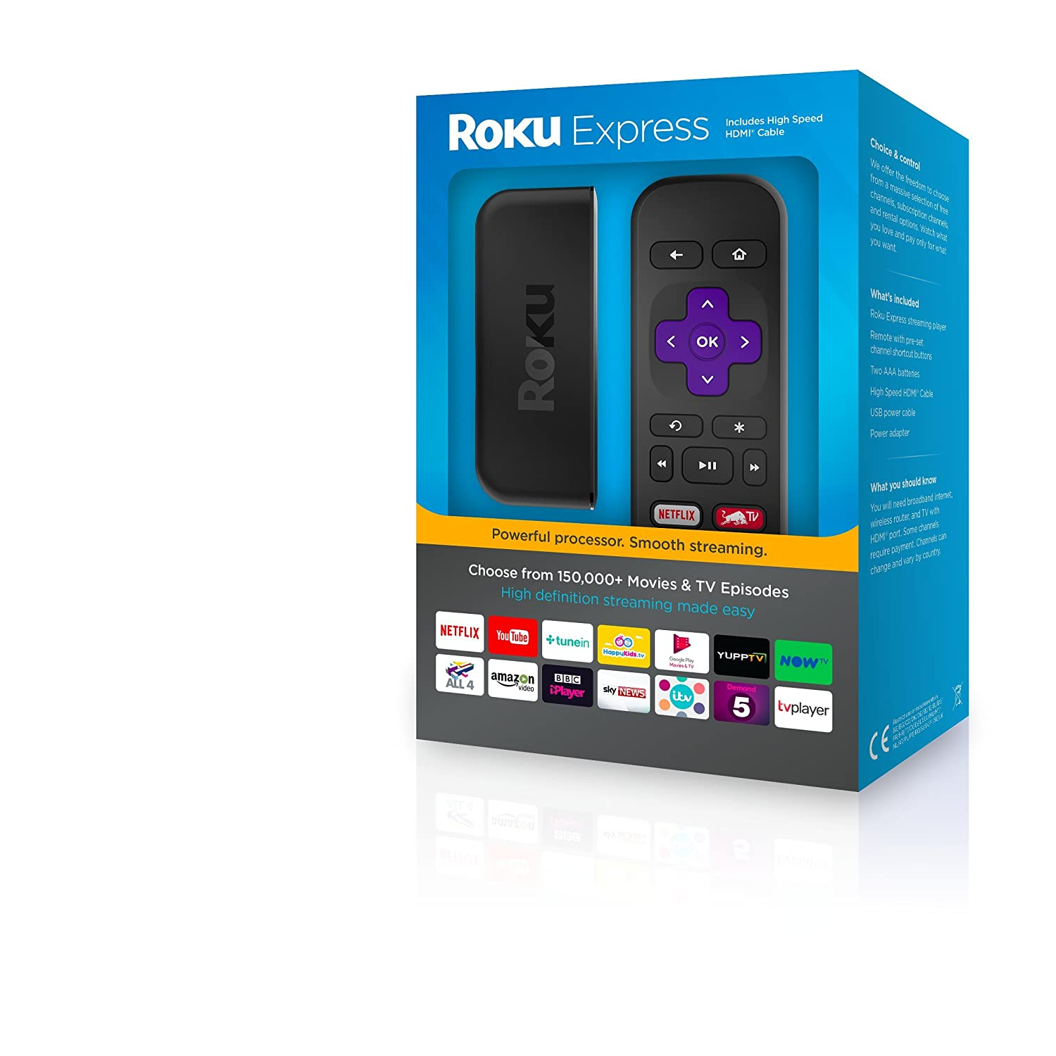 Roku - Express Streaming Media Player 3900eu