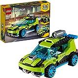 LEGO 乐高  拼插类 玩具  LEGO Creator 创意百变系列 火箭拉力赛车 31074 7-12岁