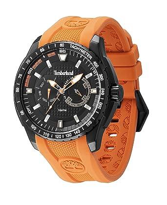 montre timberland bracelet orange