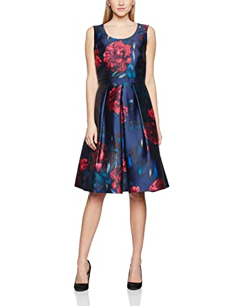 Jacques Vert Womens Lux Moonlight Prom Dress, Multicoloured (Navy), ...