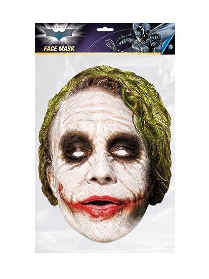 Batman - Joker, máscara de disfraz, talla única (RubieS Spain 36671)