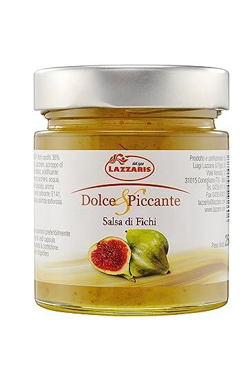 Salsa di Fichi Salsa de Mostaza de higos 250 g mostaza de higos de Lazzaris