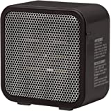 Amazon Basics 500-Watt Ceramic Small Space Personal Mini Heater - Black