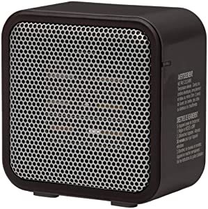 AmazonBasics 500-Watt Ceramic Personal Heater - Black