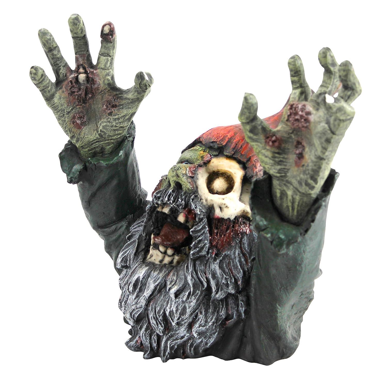 zombie gnome zombie gnombie statue garden gnome