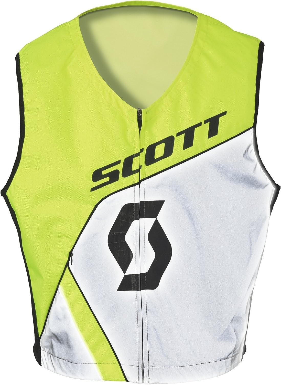 L//XL Gr/ö/ße Scott Hivis Warnweste gelb//wei/ß 2020