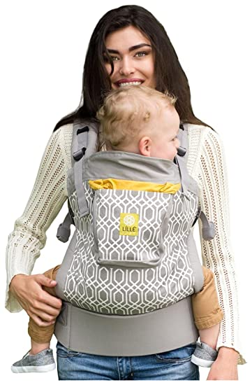 646f640db77 Amazon.com   4 in 1 ESSENTIALS Baby Carrier by LILLEbaby - Grey Eternity  Knot   Baby