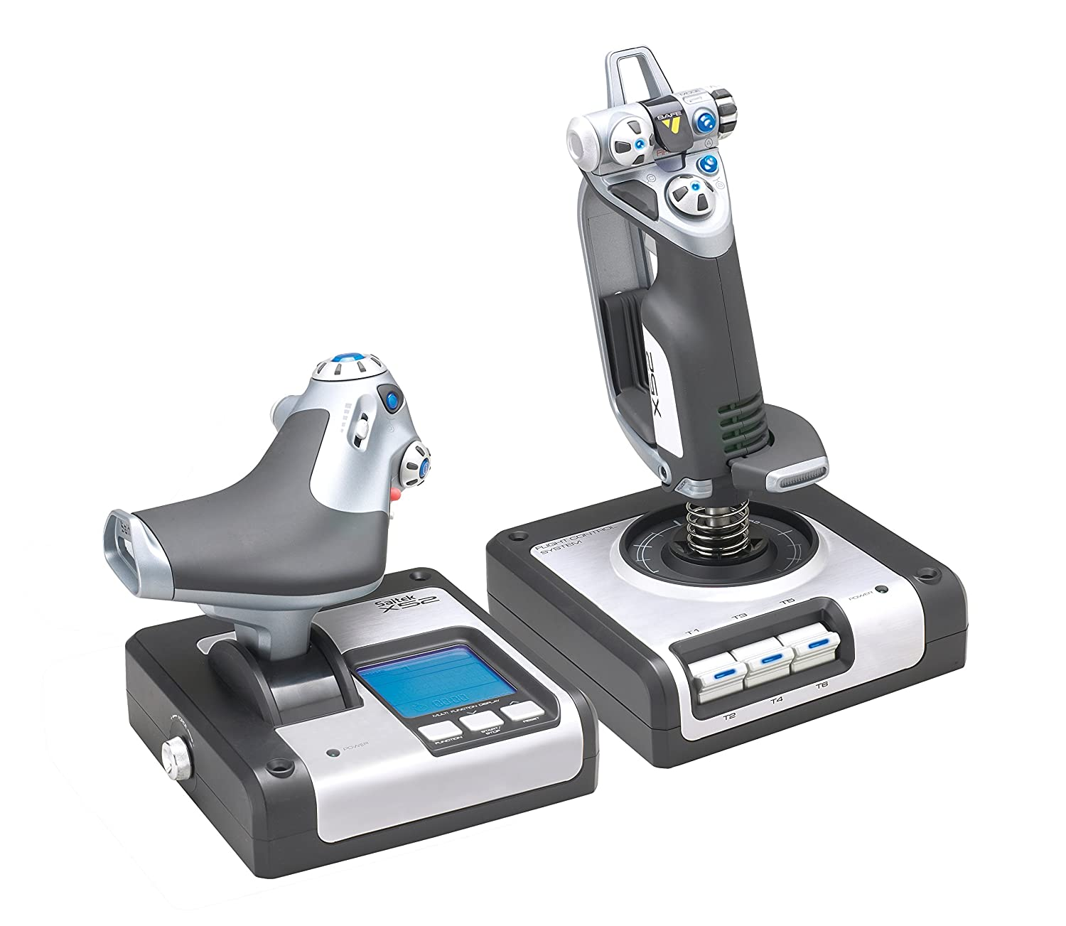 3109df7b518 Buy Logitech G Saitek X52 Pro Flight Control System Online at Low Prices in  India | Logitech Video Games - Amazon.in