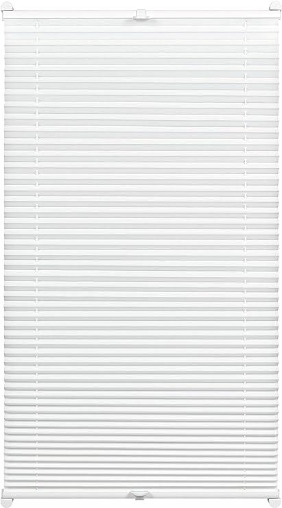 Plissee Thermo mit 2 Bedienschienen 100 x 130 cm elfenbein Gardinia B-Ware