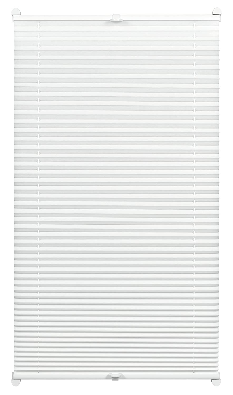 Gardinia Store Plissé à Clipser, Opaque, Kit de Montage Inclus, Store Plissé à 2 Rails EASYFIX, Taupe, 40 x 130 cm (LxH) 33403