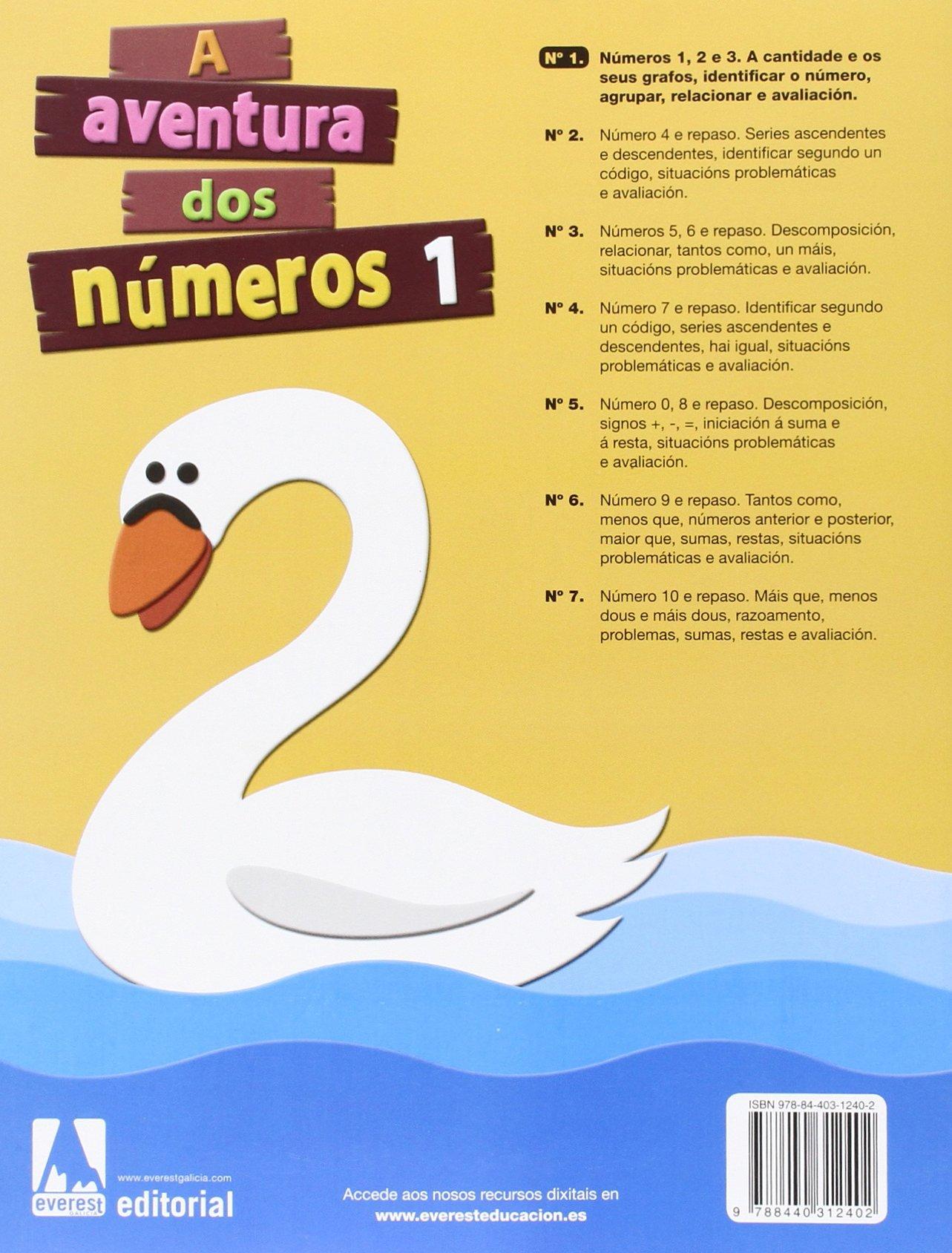 A aventura dos números 1 - 9788440312402: Amazon.es: Díez Torío Ana María,  Estébanez Estébanez Aurora, Calvo Rojo María del Carmen, Anievas Alfredo,  ...