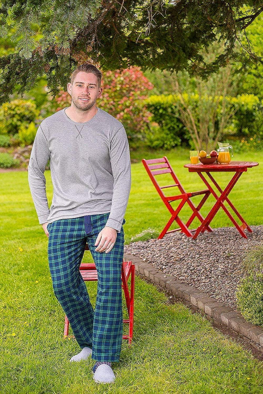The Genuine Irish Flannel Lounge Pants Large Blue Size L Men/'s