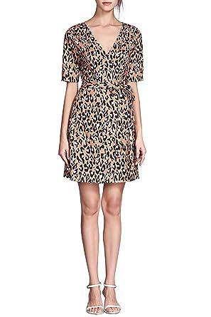 Leopard Print Cocktail Dress