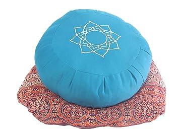 Amazon.com: Hugger Mugger Zafu cojín de meditación de Yoga ...