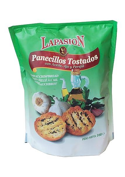 LAPASION - Panecillos tostados con aceite, ajo y perejil ...