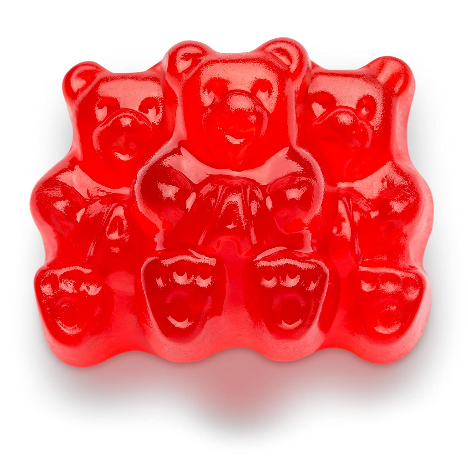 Haribo gummy bears are just one of many products that thomas - Amazon Com Albanese Candy Wild Cherry Gummi Bears 5 Pound Bag Gummy Candy Grocery Gourmet Food