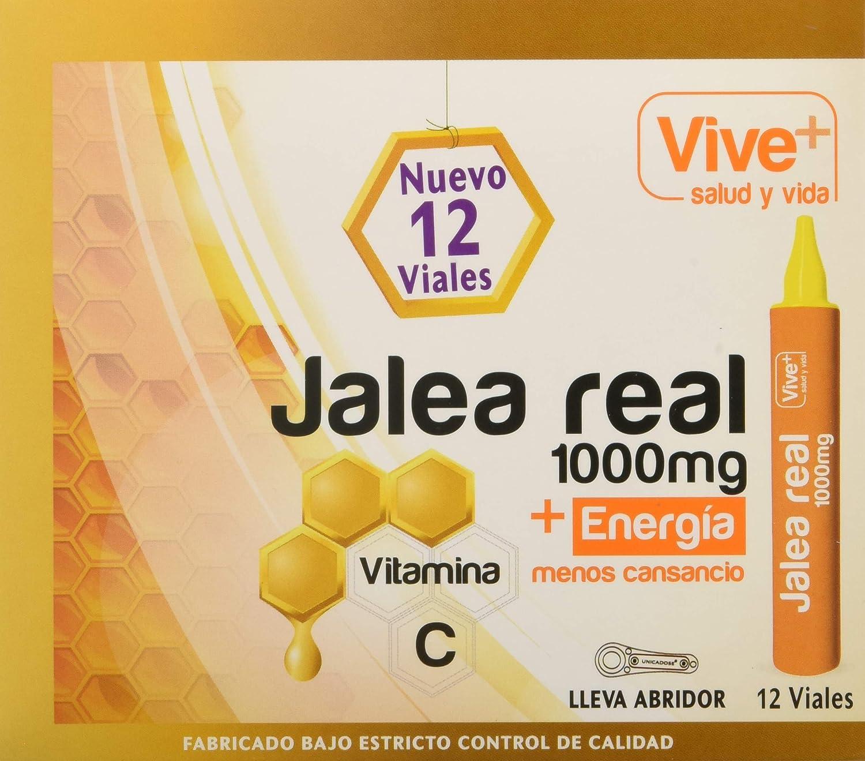 Vive+ Jalea Real para Adultos - 3 Paquetes de 12 Unidades: Amazon ...