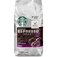 Starbucks 星巴克 浓咖啡 碳烤全豆咖啡, 12-Ounce 每包(340g) (6包)