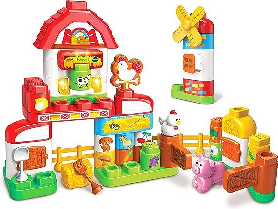 VTech Bla Bla Blocks Boerderij - Juegos educativos (Multicolor, Niño/niña, 1,5 año(s), 5 año(s), Holandés, De plástico): Amazon.es: Juguetes y juegos