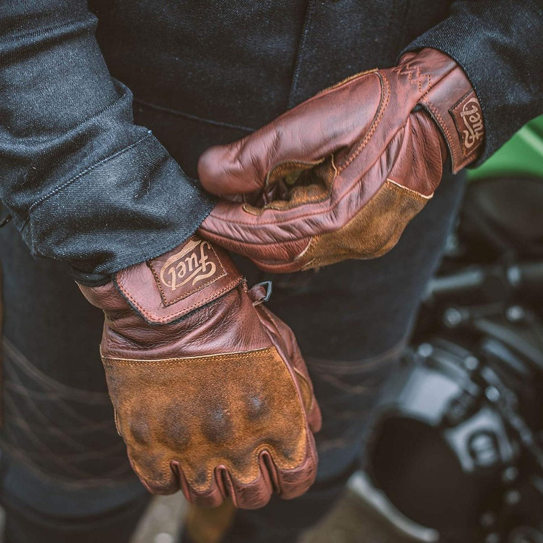 Fuel Lederhandschuhe Rodeo dunkelbraun