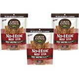 Earth Animal No-Hide Beef Stix, 30ct (3-Packages of 10)