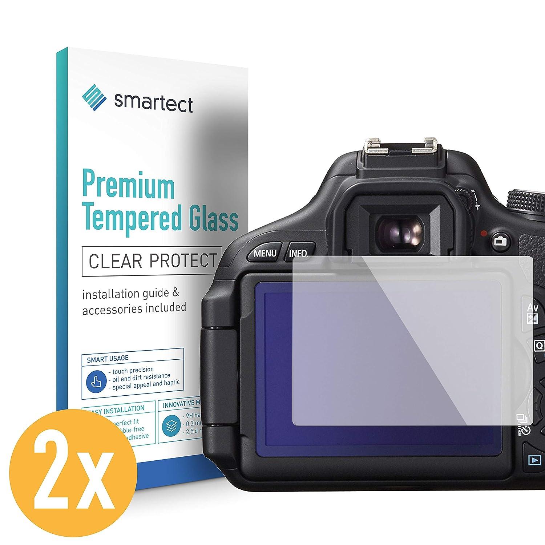 smartect Protector de Pantalla para Canon EOS 600D [2 Unidades ...