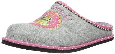 Softwaves Damen Hausschuh Pantoffeln, Grau (200 Grey), 36 EU