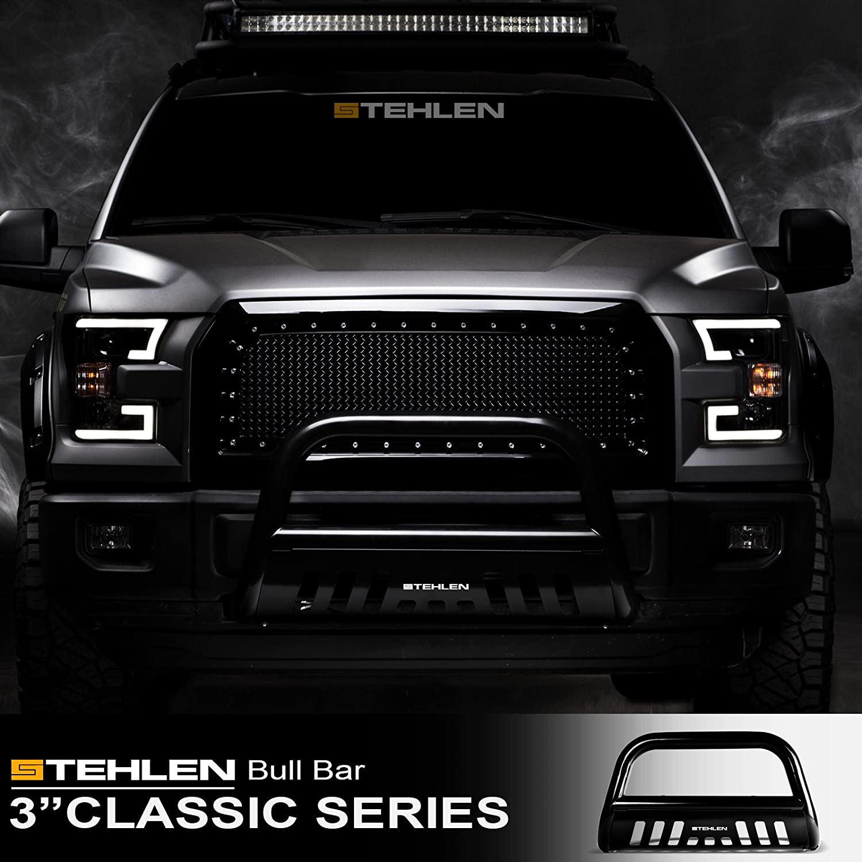 Stehlen Design amazon com stehlen 714937182530 3 series bull bar black