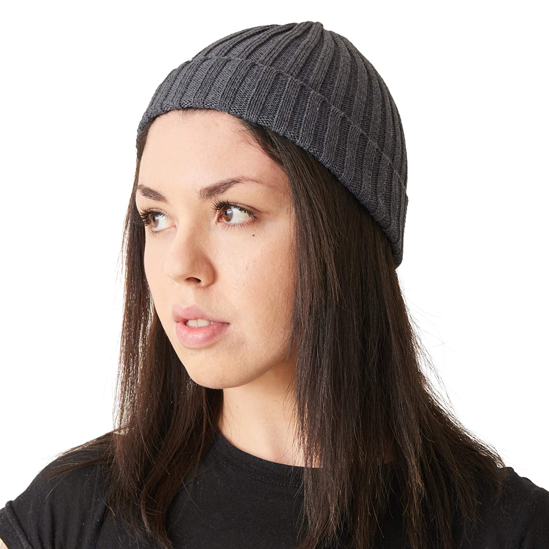 CHARM Casualbox Mens Fishermans Beanie 100/% Cotton Womens Knit Beanie Hat