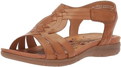 279e90158a8 BareTraps Women s Keely Sandal Caramel 10 Medium US