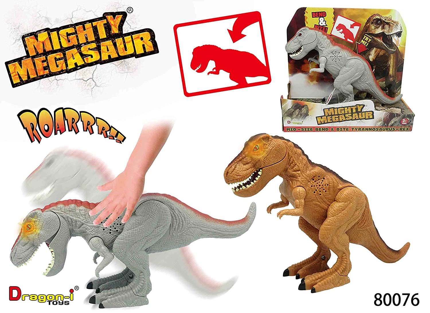 Mighty Megasaur Electronic Action