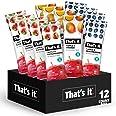 That's it. Apple + Variety 100% Natural Real Fruit Bar, Best High Fiber Vegan, Gluten Free Healthy Snack, Paleo for Children