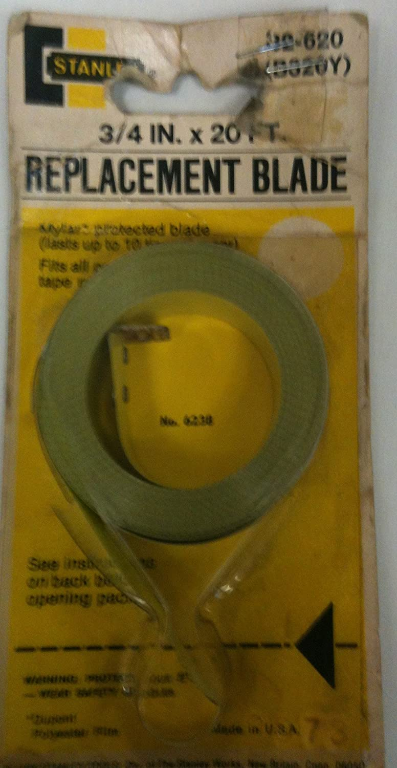 Stanley Tape Measure Replacement Blade 32 620 20 X 3 4 Amazon