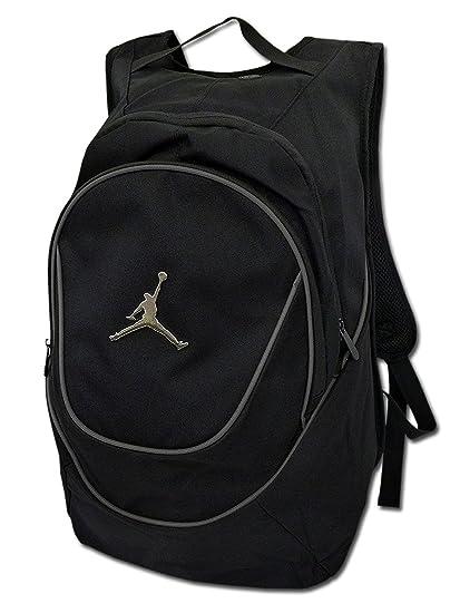 a6af025d33a1 Amazon.co.jp: (ジョーダン) Jordan カラー ラインド バックパック 黒 ...