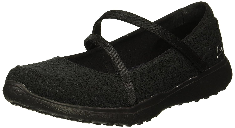 Skechers Women's Microburst-Pure Cleanse Sneaker B076HTTM3R 9 B(M) US|Black