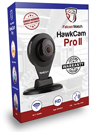 Best Seller HawkCam Pro Home Security Camera Wireless, Nanny Cam - Audio,  FalconWatch HD