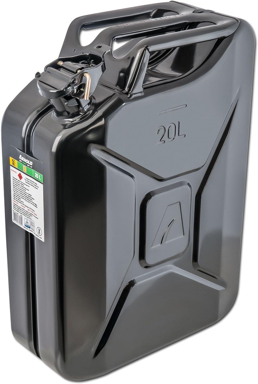 20 L, color negro Bid/ón para combustible Arnold 6011-X1-2002